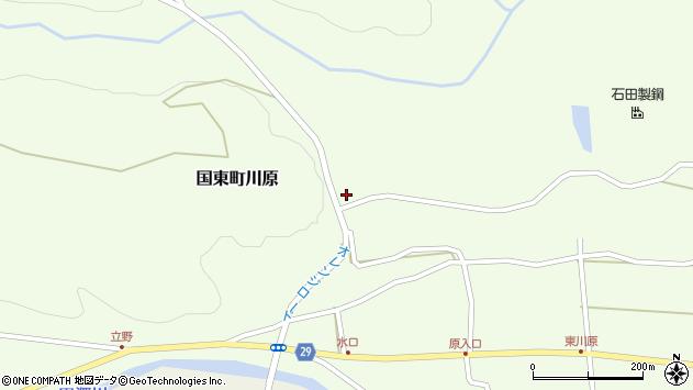 大分県国東市国東町川原1427周辺の地図