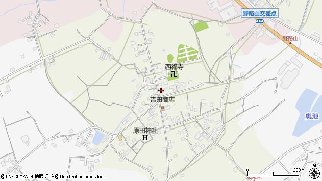 大分県中津市北原708周辺の地図