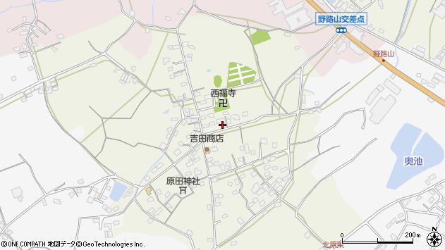 大分県中津市北原703周辺の地図
