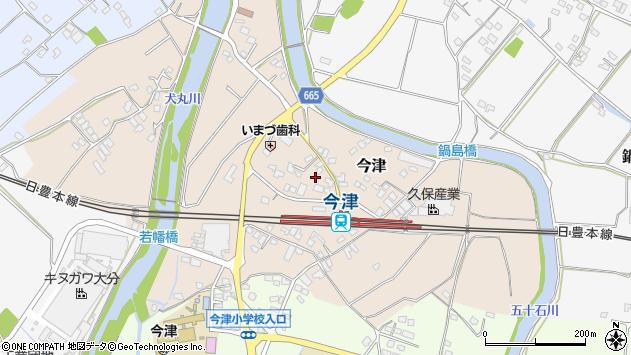 大分県中津市今津1021周辺の地図