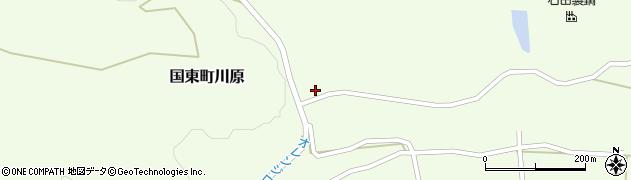 大分県国東市国東町川原1433周辺の地図