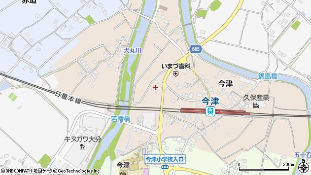 大分県中津市今津1060周辺の地図