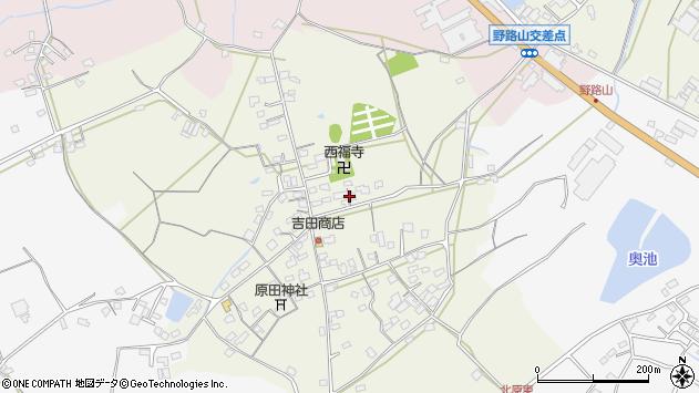 大分県中津市北原702周辺の地図