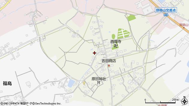 大分県中津市北原588周辺の地図