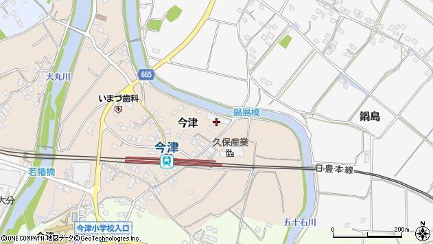 大分県中津市今津853周辺の地図