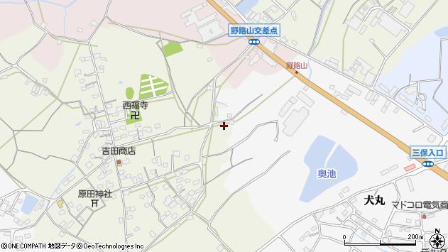 大分県中津市北原679周辺の地図