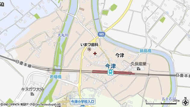 大分県中津市今津1034周辺の地図