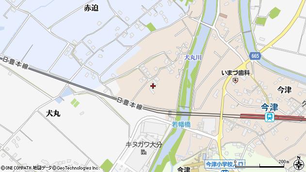 大分県中津市今津733周辺の地図
