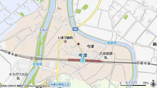 大分県中津市今津1019周辺の地図