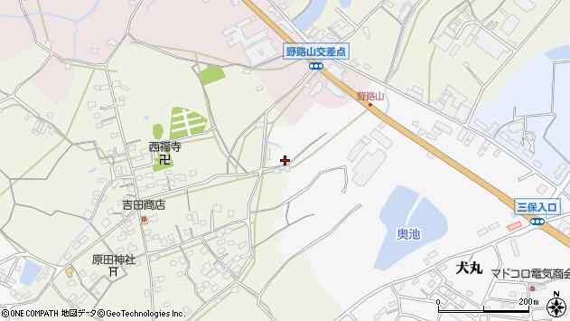 大分県中津市犬丸2506周辺の地図