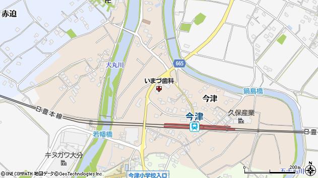大分県中津市今津1048周辺の地図