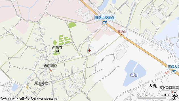 大分県中津市北原676周辺の地図
