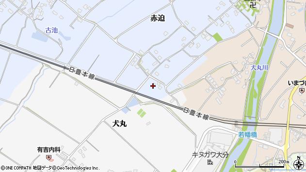 大分県中津市赤迫40周辺の地図