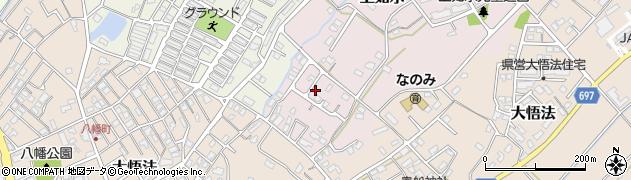 大分県中津市上如水1052周辺の地図