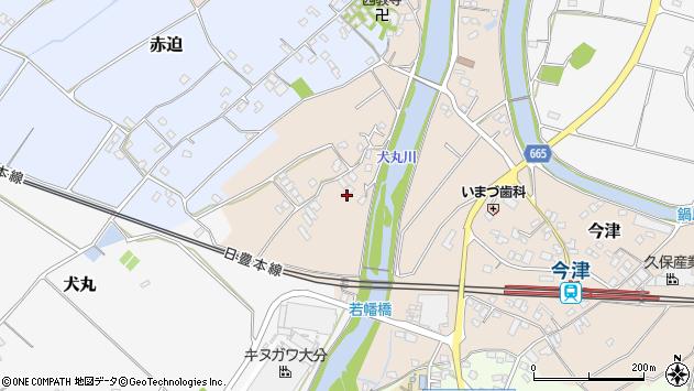 大分県中津市今津745周辺の地図