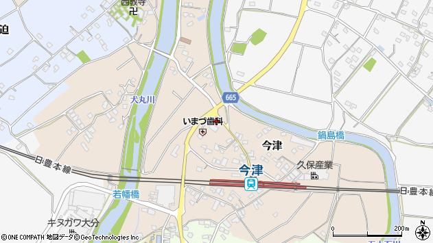大分県中津市今津1040周辺の地図