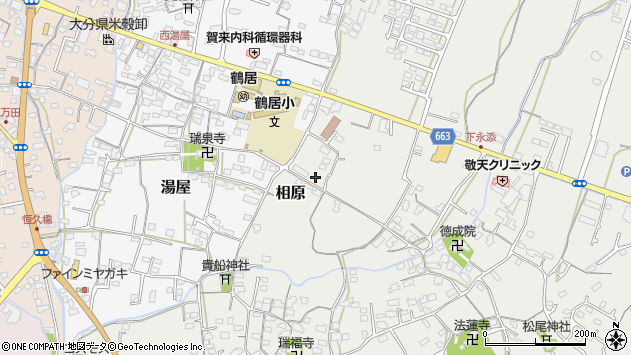 大分県中津市相原3725周辺の地図