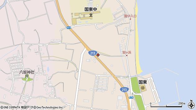 大分県国東市国東町田深1196周辺の地図