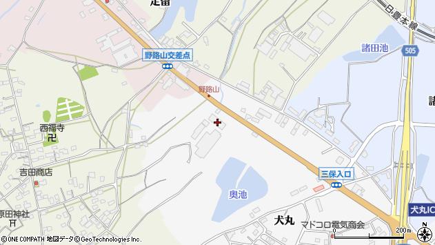 大分県中津市犬丸2473周辺の地図