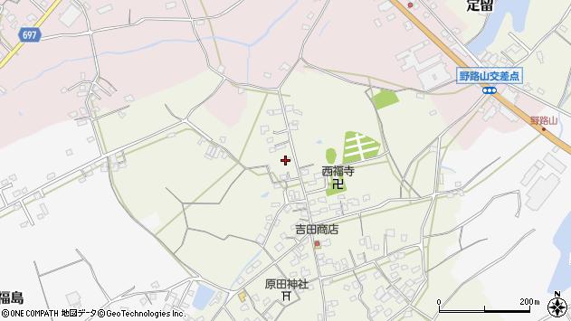 大分県中津市北原571周辺の地図