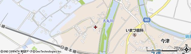 大分県中津市今津747周辺の地図