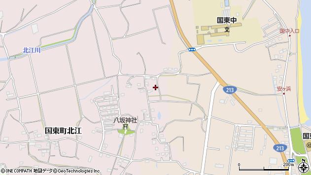大分県国東市国東町北江1079周辺の地図