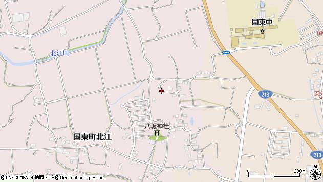 大分県国東市国東町北江1057周辺の地図