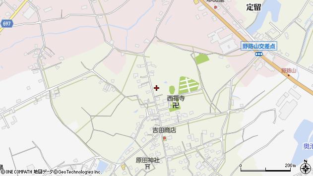 大分県中津市北原612周辺の地図