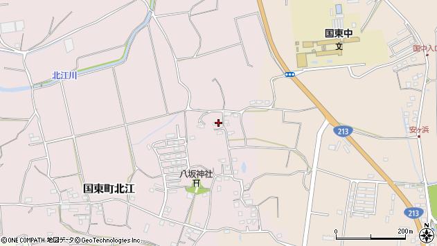 大分県国東市国東町北江1054周辺の地図