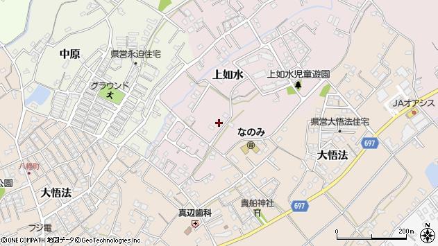 大分県中津市上如水1048周辺の地図