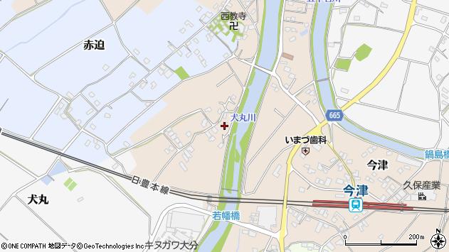 大分県中津市今津752周辺の地図