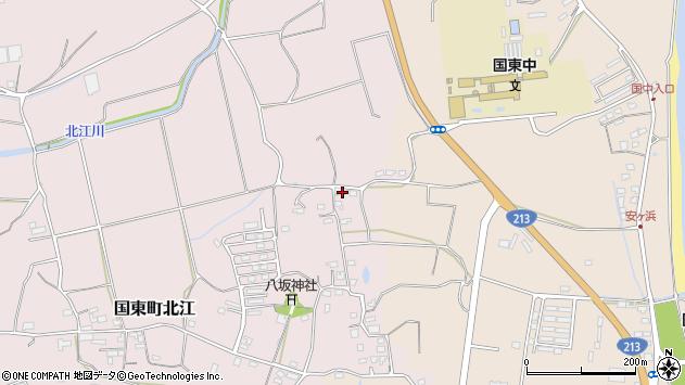 大分県国東市国東町北江1083周辺の地図