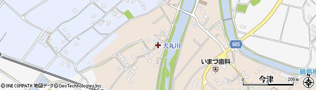 大分県中津市今津753周辺の地図