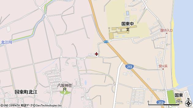 大分県国東市国東町北江1099周辺の地図