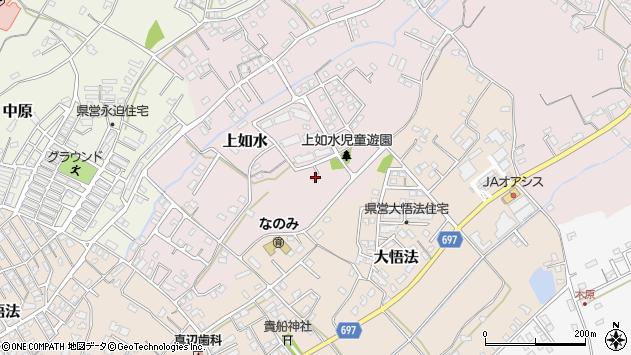 大分県中津市上如水999周辺の地図