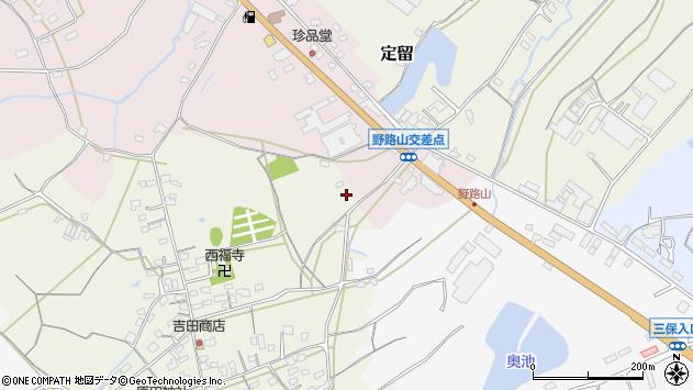 大分県中津市北原565周辺の地図