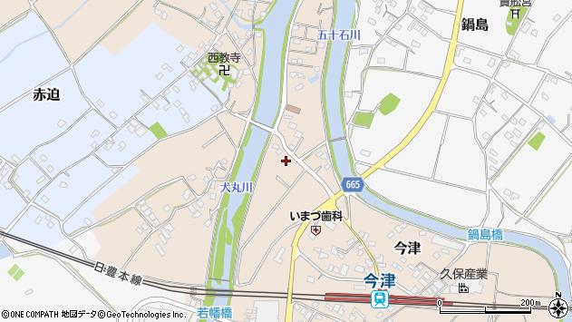 大分県中津市今津1125周辺の地図