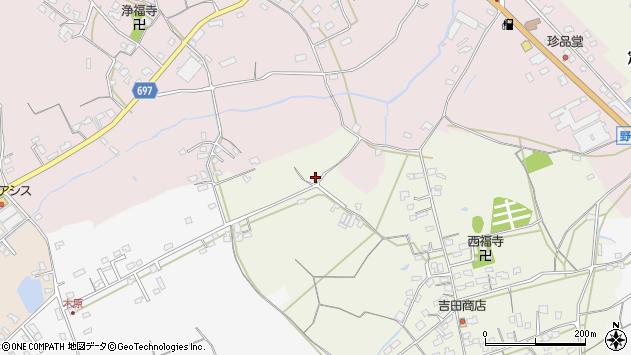 大分県中津市北原534周辺の地図