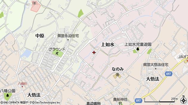 大分県中津市上如水1031周辺の地図