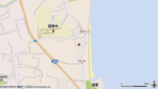 大分県国東市国東町田深1246周辺の地図