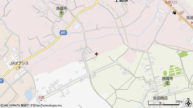 大分県中津市上如水1713周辺の地図