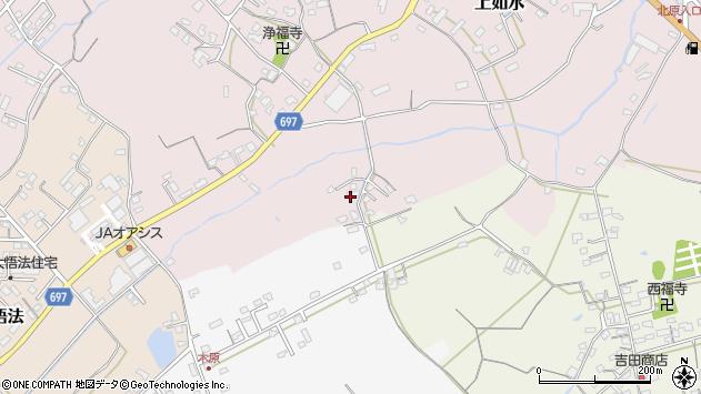 大分県中津市上如水1685周辺の地図