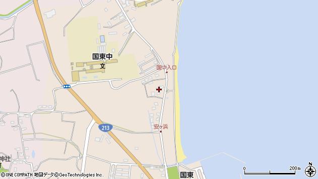 大分県国東市国東町田深1253周辺の地図
