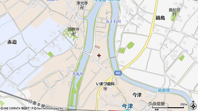 大分県中津市今津1132周辺の地図