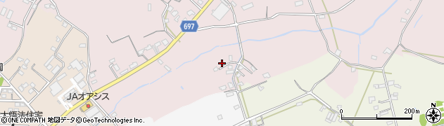 大分県中津市上如水1686周辺の地図