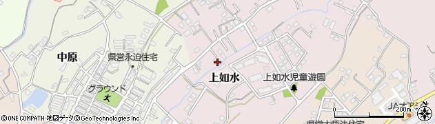 大分県中津市上如水686周辺の地図