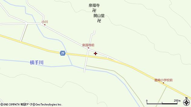大分県国東市国東町横手1747周辺の地図