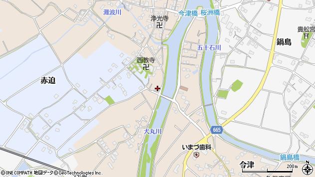 大分県中津市今津636周辺の地図