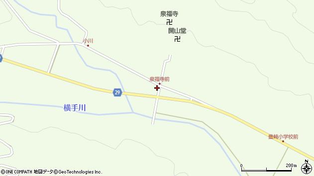 大分県国東市国東町横手1722周辺の地図