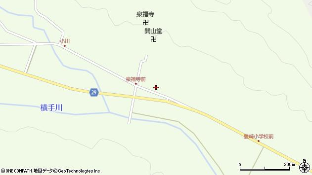 大分県国東市国東町横手1825周辺の地図